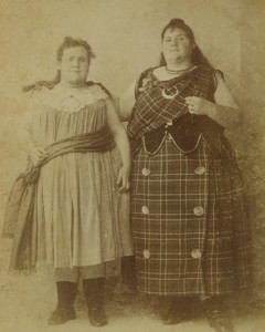 Clara and Anna Snell