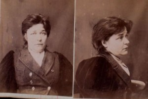 Mug Shot of Madame Olga Radalyski