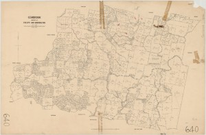 1892 Map of Emerald, Gembrook, Upper Pakenham and Northern Part of Upper Beaconsfield. map Courtesy of The State Library of Victoria.
