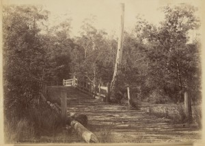 Parslow's Bridge, Yellingbo Photo courtesy of The State Library of Victoria