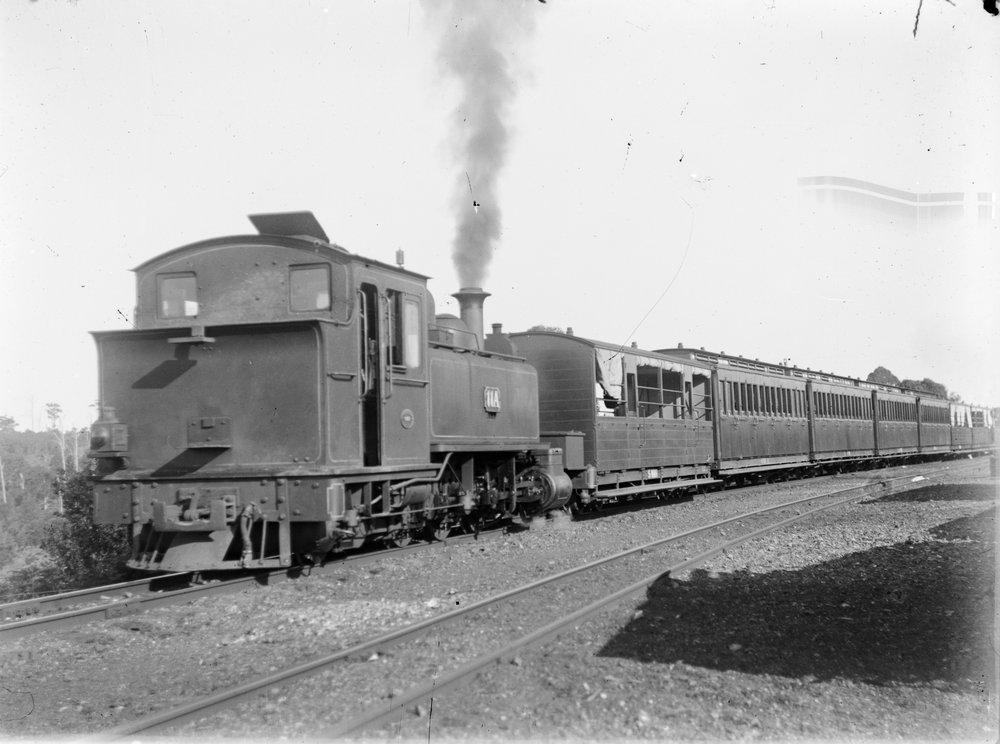 The Corpse on the Korumburra Train   Gippsland  Odd