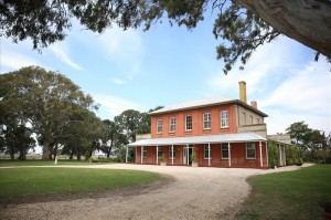 Fulham Park Homestead residence of William Scott Clement and his mother Jane.