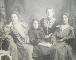 The Clement Sisters. Margaret, Anna, Flora and Jeannie