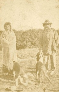 Eliza and Peter, the last of the Westernport Tribe.