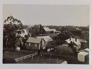 The Haunted Hills Township. Photo courtesy of the State Library of Victoria