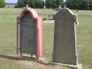 Agnes and Hugh Buntines Grave