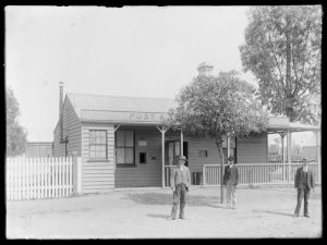 The Barmedman Post Office about 1900.